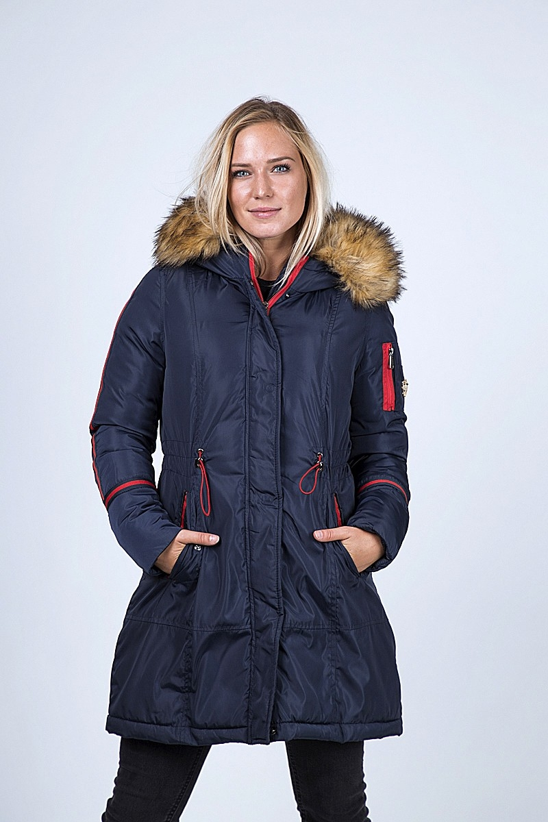 DOWN JACKET JULIE SYNTHETIC FUR
