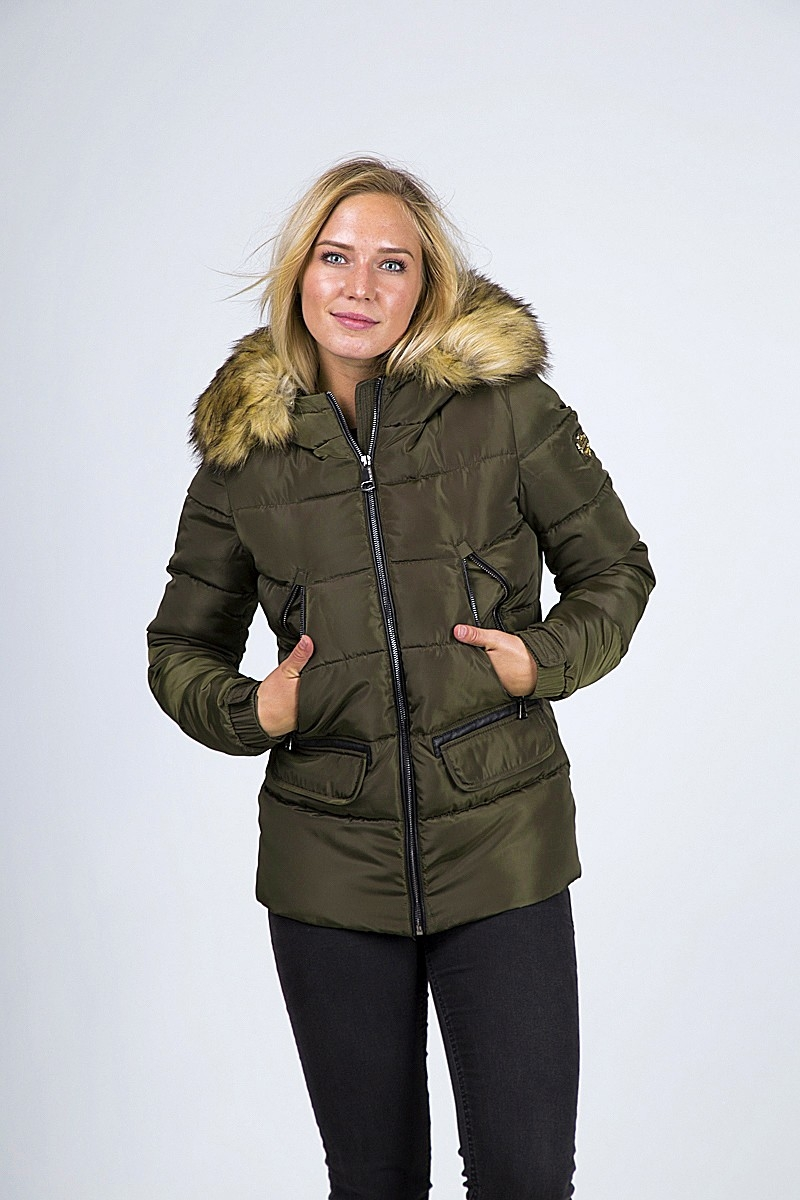 DOWN JACKET CARLA SYNTHETIC FUR